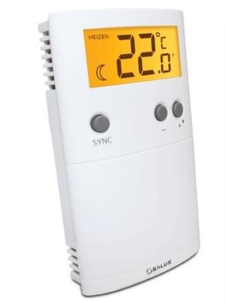 Термостат теплого пола ERT30RF, цифровой беспроводной