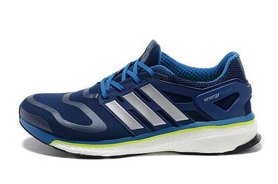 Мужские кроссовки  ADIDAS ENERGY BOOST (NAVY/BLUE-ELECTRICITY-TECH)