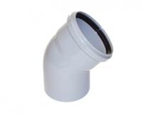 Колено канализационное  Skolan-dB д 56/45