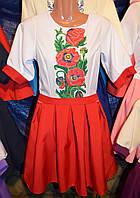 """Жіноча вишита сукня """"Маків цвіт"""""""