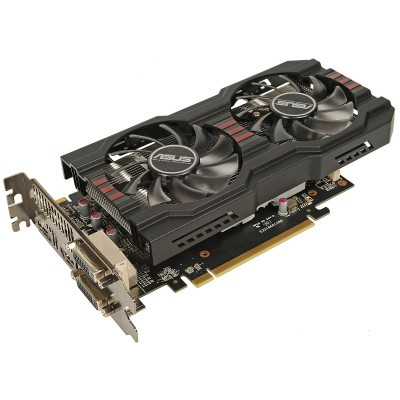 "Видеокарта ASUS R7 260X DC2OC 1GD5 ""Over-Stock"" Б/У"