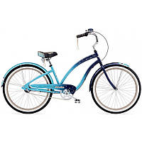 "Велосипед 26"" ELECTRA Night Owl 3i Ladies' Blue fade"