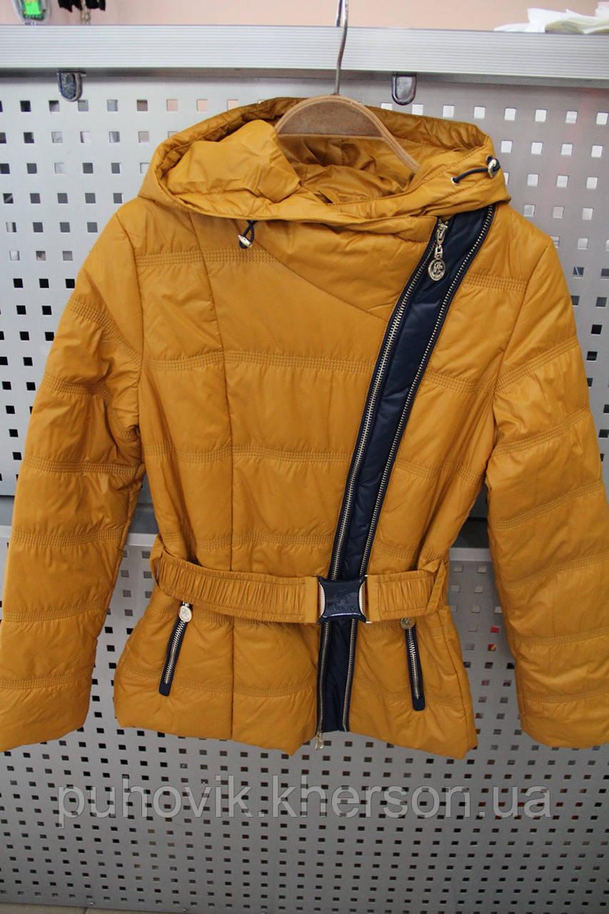Куртка детская Anernuo 1585 темно-желтый