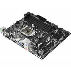 "Материнская плата  ASRock B85M Pro3 Socket 1150 DDR3 ""Over-Stock"" Б/У"
