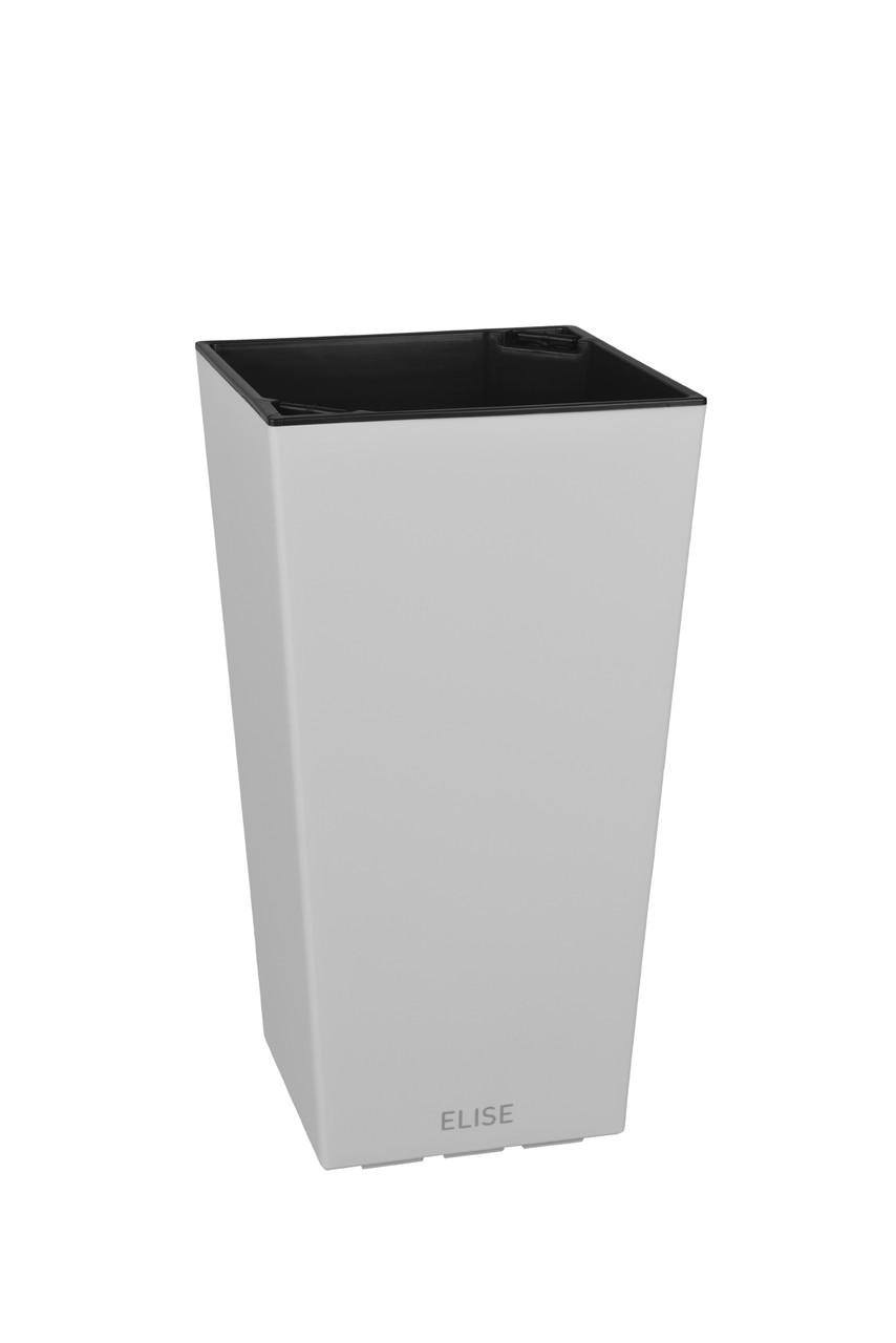 Умный вазон ELISE 25х25х46 см матовый PLASTKON