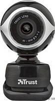 Веб камера TRUST EXIS WEBCAM BLCK-SLVR