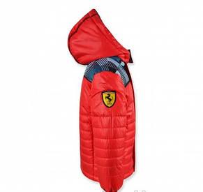 """Стильная качественная куртка """"Ferarry"""" (красная ) на мальчика., фото 2"""