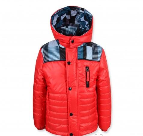 """Стильная качественная куртка """"Ferarry"""" (красная ) на мальчика."""
