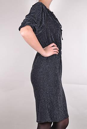 Платье Летучая мышь с поясом (WZ226), фото 2