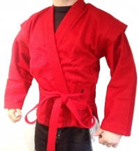 Самбовка (куртка для самбо) красная