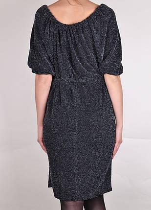Платье Летучая мышь с поясом (арт. WZ226), фото 2