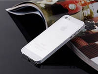 Чехол бампер для телефона Iphone 5\5S прозрачный