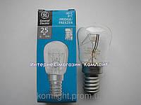 Лампа для холодильника 25Вт Е14 General Electric Pygmy 25P1/CL/E14 230V (Венгрия)