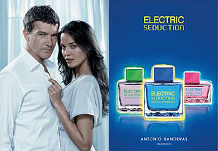 Antonio Banderas Electric Seduction In Black For Men туалетная вода 100 ml. (Электрик Седакшн Ин Блек Фор Мен), фото 3