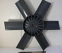 Вентилятор системы охлаждения ГАЗ 3307 металлические втулки  <ДК>