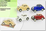 Машина в пакете 6700/6600 (4 вида, под слюдой 28 * 13 * 11см)