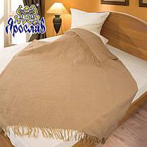 Плед из шерсти мериноса ТМ Ярослав,140х200 см, фото 2