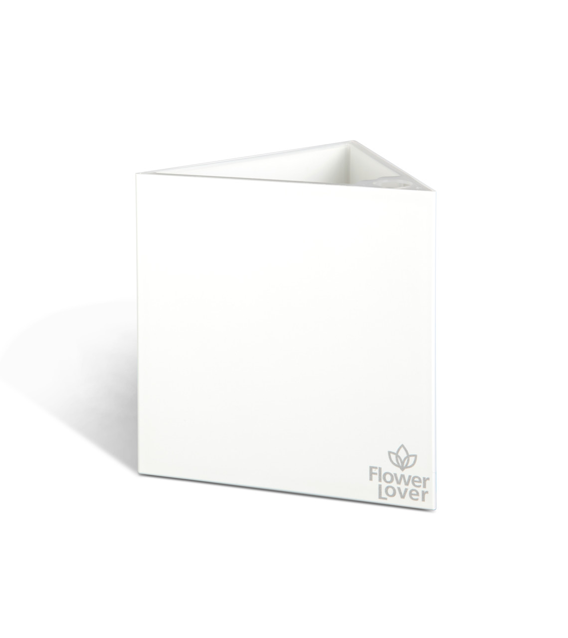 Умный вазон с системой автополива Triangle  Flower Lover 14x14x14 см глянецевый PLASTKON