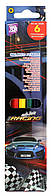 """Цветные карандаши  """"Racing"""" 6 цветов, CF15148 Cool For School"""