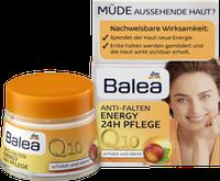 Крем против морщин Енергия для всех видов кожи лица Balea Q10 Anti-Falten Energy 24h pflege 50 мл.