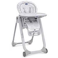 Детский стульчик для кормления Chicco Polly Progres 5 в 1 grey