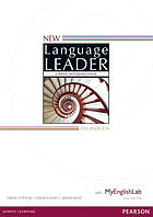 New Language Leader Upper-Intermediate Coursebook and MyEnglishLab Pack