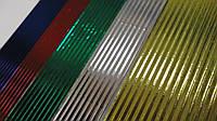 Гофрокартон метализированный цветной Spider-Man Спайдермен,Kite 5 лист,5цв.А4.Гофрированный картон металлик А4