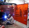 Экраны для сварочных работ EN1598