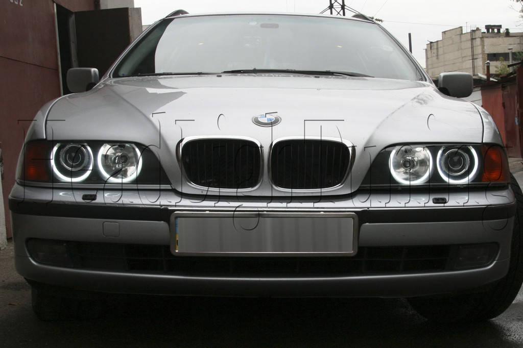 BMW E39 - замена моно линз на биксеноновые