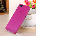 Чехол бампер для телефона Iphone 5\5S Малиновый