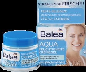 Увлажняющий крем-гель для сухой кожи лица Balea Aqua feuchtigkeitscreme gel 50 мл.