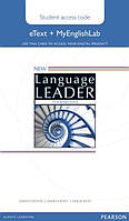 New Language Leader Intermediate eText Coursebook with MyEnglishLab Pack