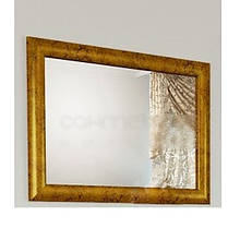 Зеркало Marsan Virginie 1200 античное золото/серебро, 1200х750 мм