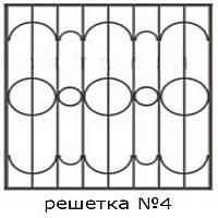 Кованая решетка 4