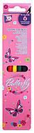 "Цветные карандаши  ""Butterfly"" 6 цветов, CF15150 Cool For School"