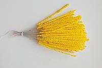 Тычинка для цветка длинная, желтая