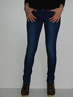 Узкие джинсы женские темно-синие R.marks TN-7520 демисезонные рр. 25,28