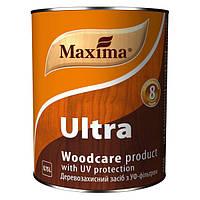 Деревозащитное средство с уф-фильтром Maxima ULTRA (Максима Ультра) Бесцветное 0.75л