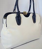 Элегантная женская сумка на два отдела
