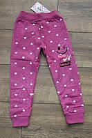 Спортивные штаны для девочек 1- 4 лет