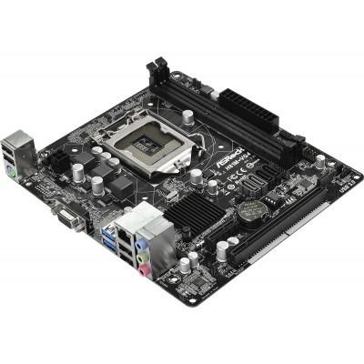 "Материнская плата ASRock H81M-VG4 R2.0 s.1150 DDR3 ""Over-Stock"" Б/У"