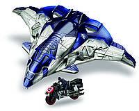 AVN Самолет Мстителей (внутри фигурка Первого Мстителя и мотоцикл) B0425, фото 1