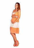 Cарафан белый для беременных