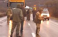 Уже в восьми областях Украины блокируют фуры Российской Федерации.
