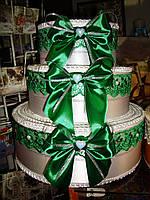 Тортик для денег Банты, фото 1