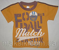 Футболка для мальчика р. 98-116см