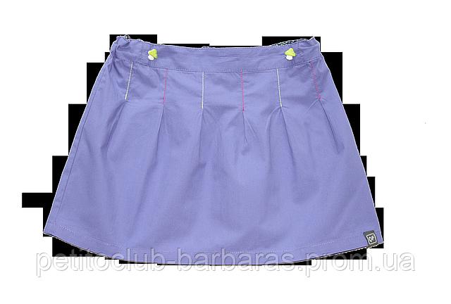 Детская летняя фиолетовая юбка (QuadriFoglio, Польша)