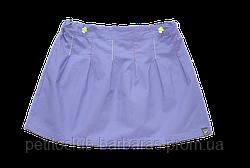 Детская летняя хлопковая фиолетовая юбка (р. 80-92 см) (QuadriFoglio, Польша)