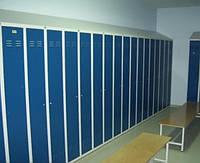 Шкафы гардеробные металлические