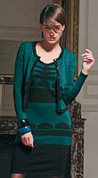 Трикотажный комплект платье и кофта «Grege» Robe Karen  , фото 1